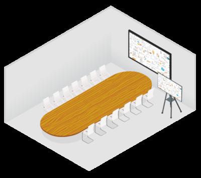 Boardroom - meetingroom setup
