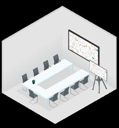 U room - meetingroom setup