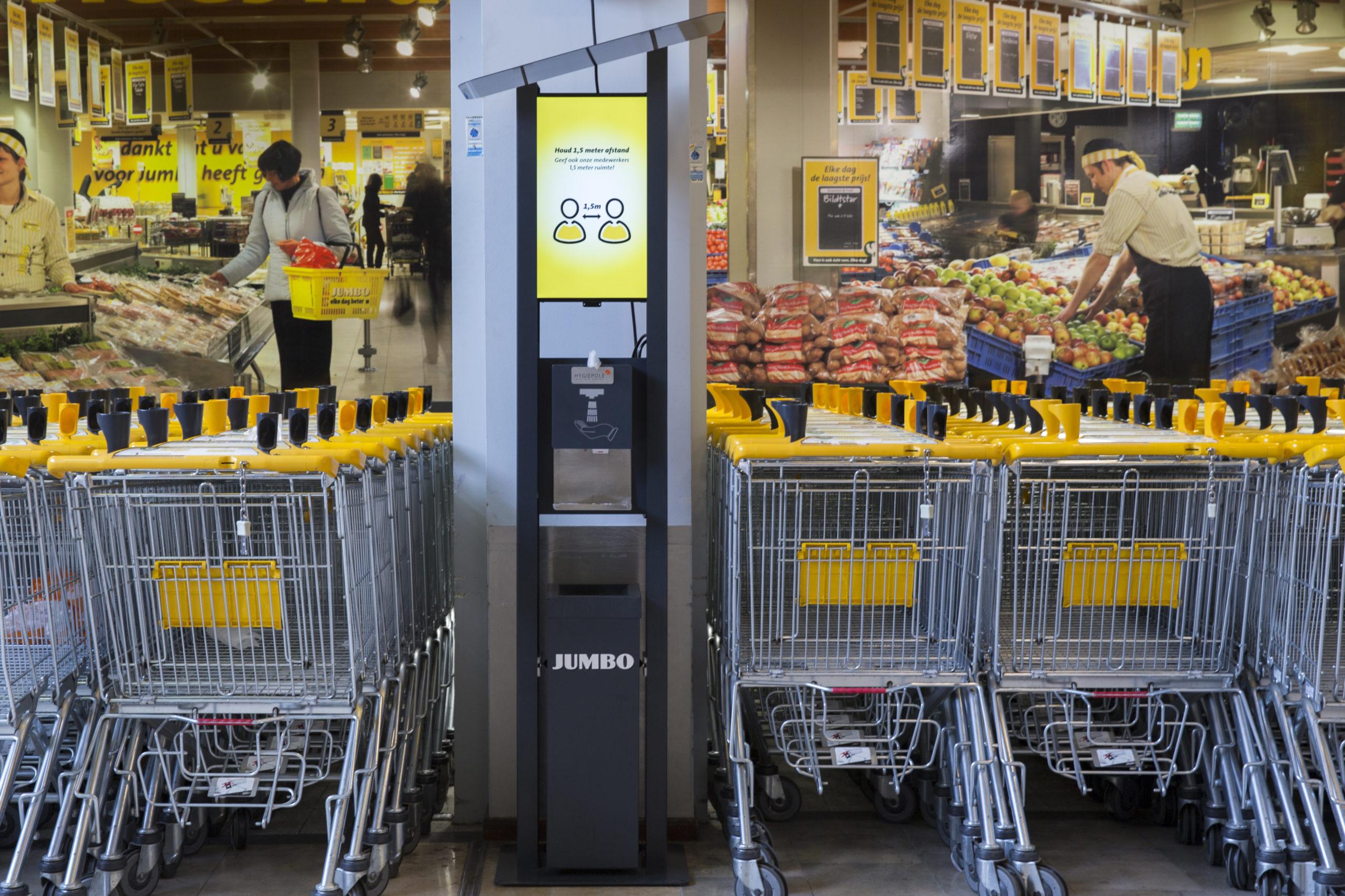 Hygiene Jumbo supermarkt