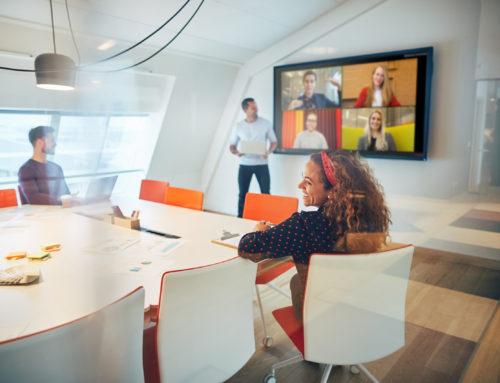 """Herbekijk onze webinar """"Turning meetings into collaborative workspaces"""""""