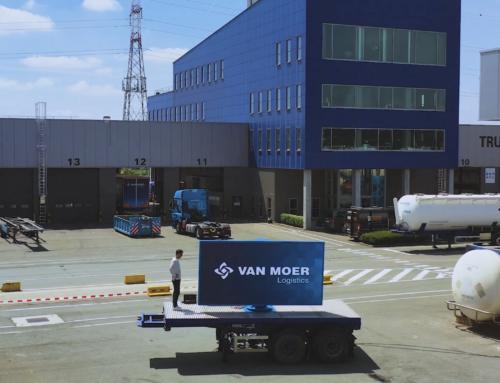 Mobiel adverteren en communiceren dankzij een Brightboard LED scherm – Van Moer Logistics